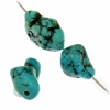 Turquoise Stablized Magnesite 10x15-18mm 8In Strand